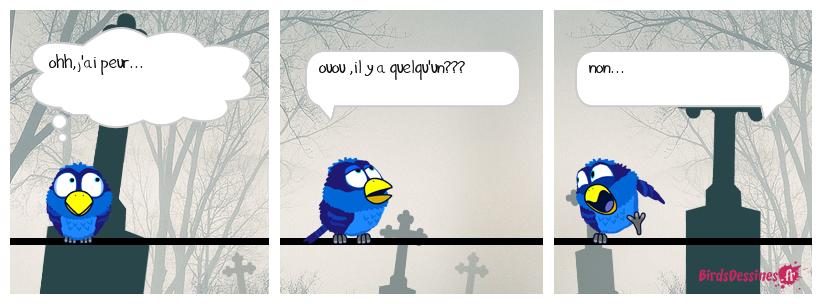 oiseau fantôme...