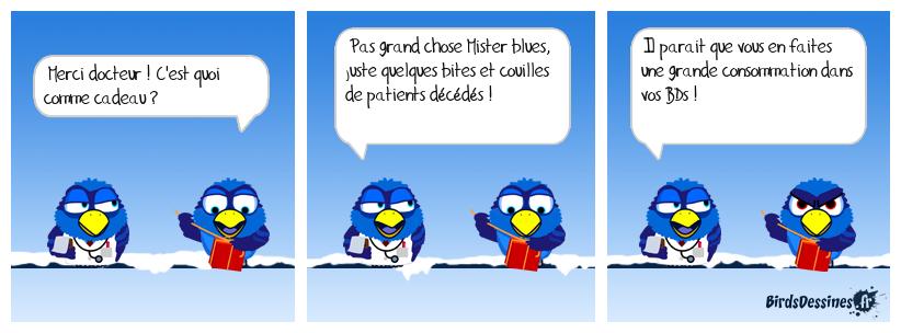 LE CADEAU DE MON DOCTEUR