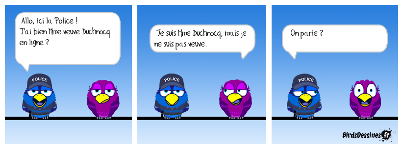 Tact policier.