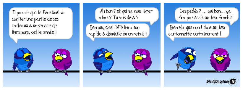 Pour la livraison de vos colis, choisissez DPD !