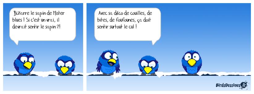 LE SAPIN DE MISTER BLUES