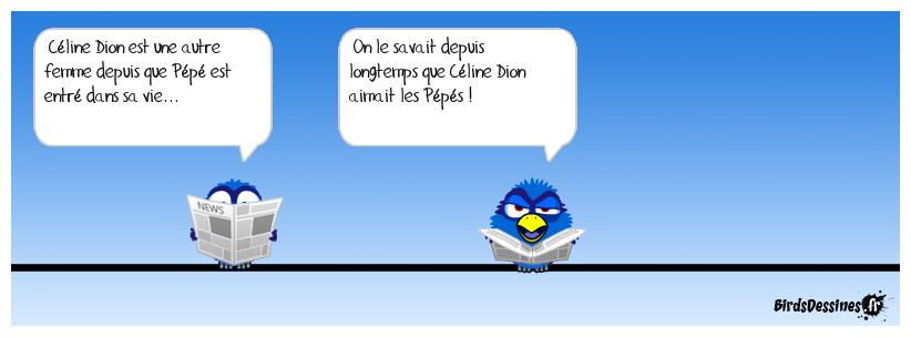 Le pépé de Céline Dion