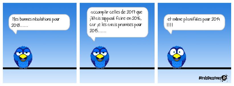 résolution 2018