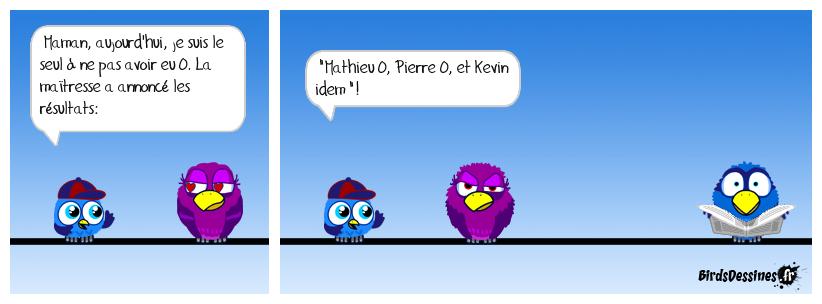 LA NOTE DE KEVIN