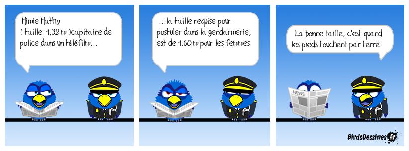 Quelle taille pour être gendarme ?