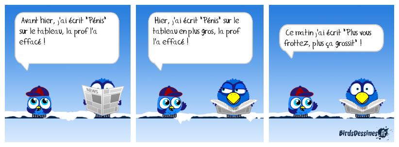 BLAGUE D'ÉCOLIER