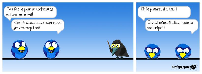 La chandeleur...pas bon pour les corbeaux!