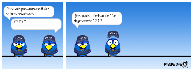 Noblesse policière . . .