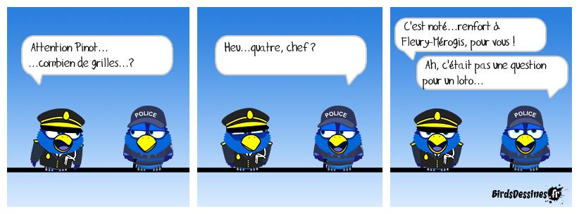 Les forces de l'ordre en renfort dans les prisons.