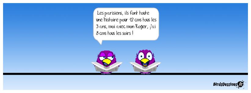les parisiens et la neige