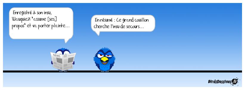 Pour s'en sortir, Laurent Wauquiez plaide l'humour... Allez, je l'aide...