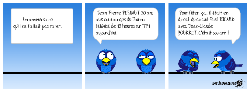 Anniversaire de Jean-Pierre PERNAUT en direct de TF1 à 13 heures