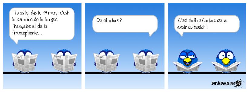En français dans le texte !