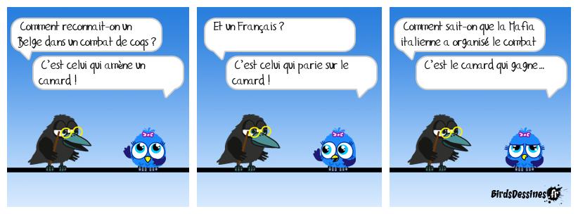Pari: Coq ou Canard ?