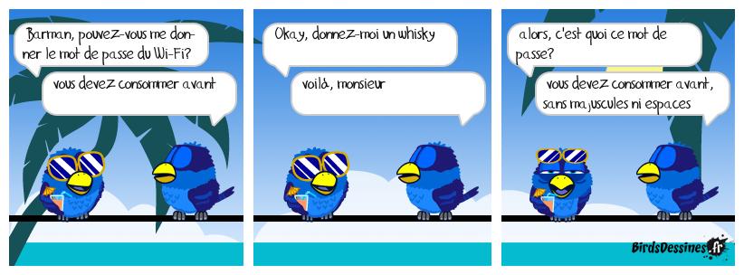 le mot de passe