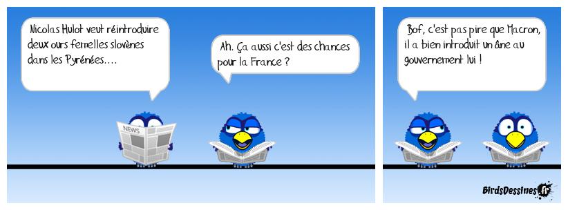 Ben voilà, on s'occupe bien des Français non ?