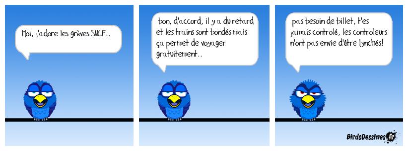 vive la grève SNCF!