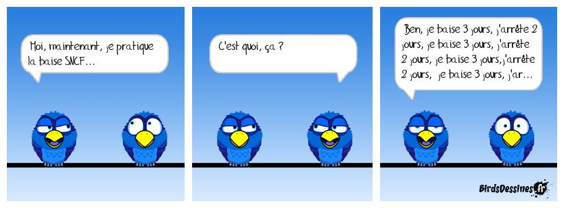 La baise SNCF