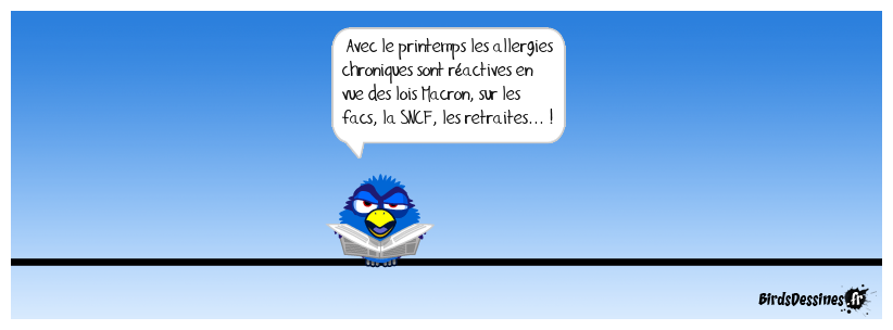Lois Macron-allergisantes