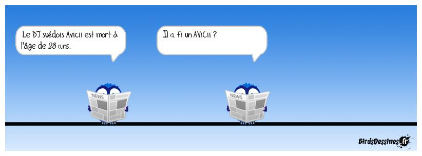 Mort de Avicii