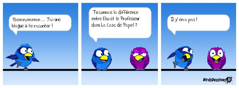 Elio et le professeur c'est le même combat !
