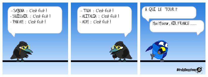 La mort d'Air France