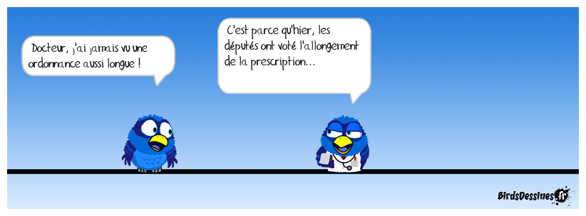 Allongement de la prescription