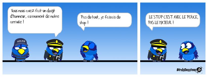 LE DOIGT D'HONNEUR