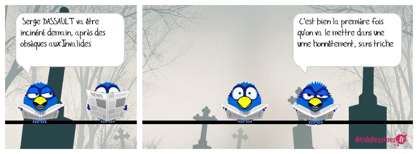 Urne électorale au cimetière