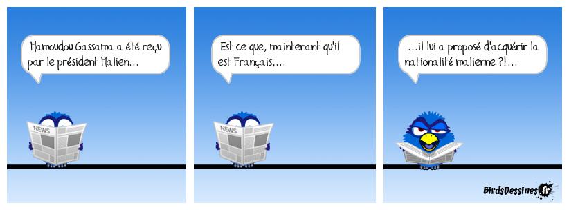 Honni soit qui Mali France...