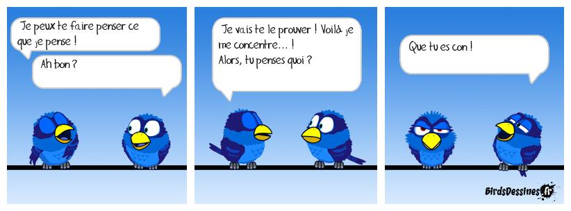 TRANSMISSION DE PENSÉE