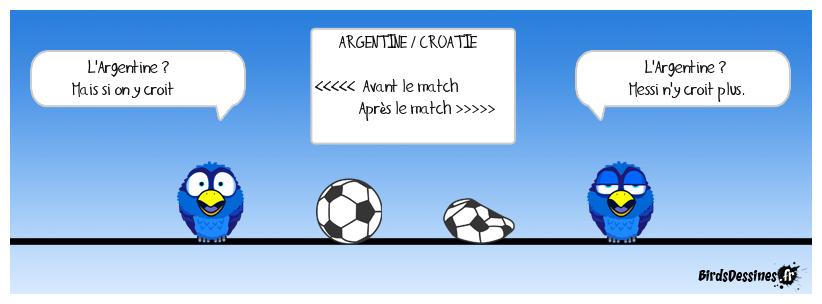 CDM - Argentine vs Croatie