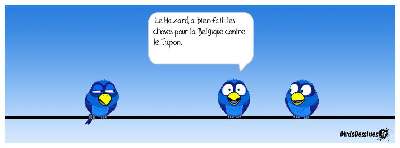 Retour sur le match Belgique - Japon