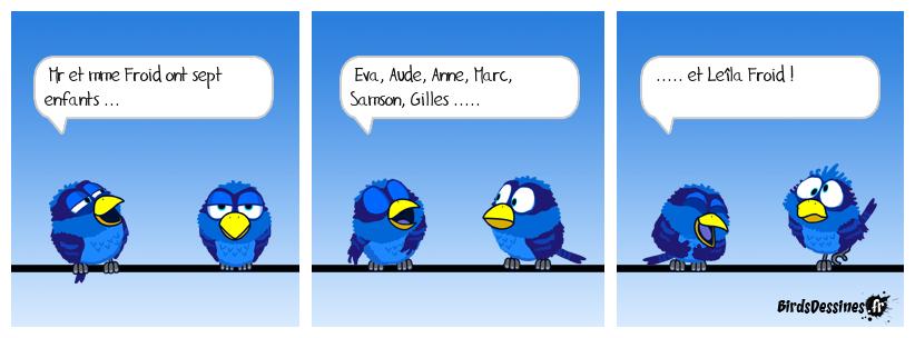 Mr et mme Froid