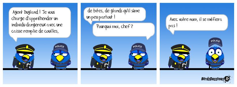 LA MISSION DE L'AGENT DUGLAND