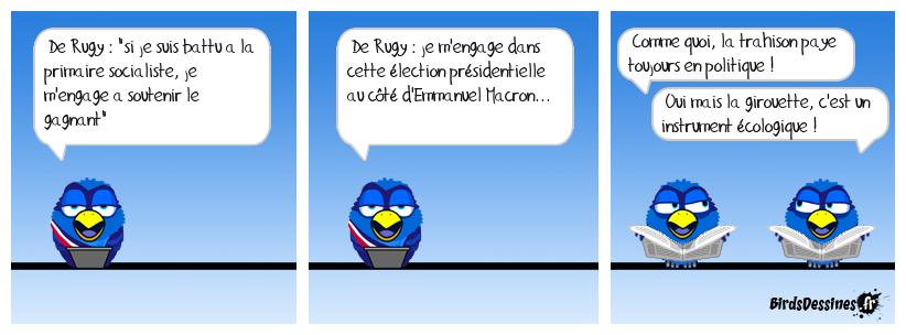 De Rugy nommé ministre de l'écologie