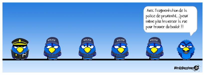 Encore plus de police dans les quartiers sensibles