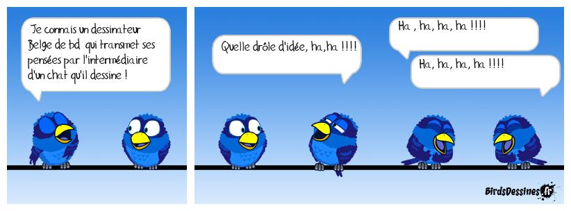 L'oiseau . . .