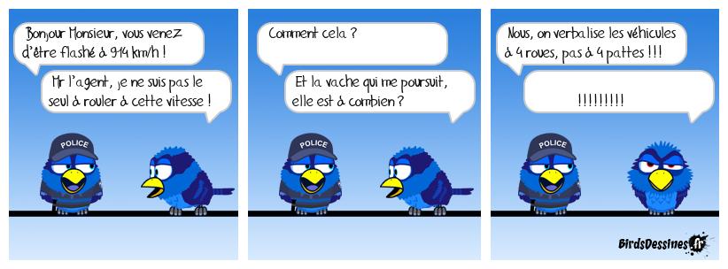 Histoire belge inspirée d'un contrôle routier récent qui fait le buzz sur internet !