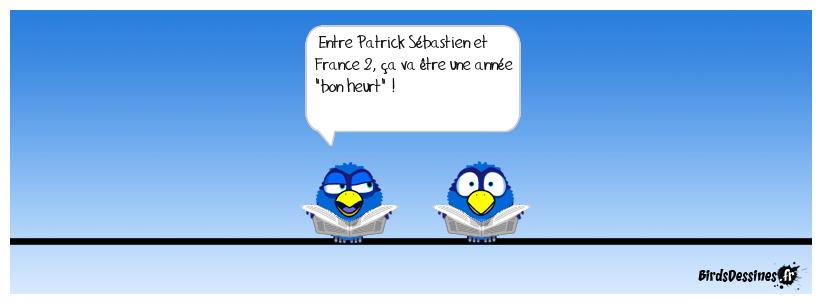 France 2 vire Patrick Sébastien