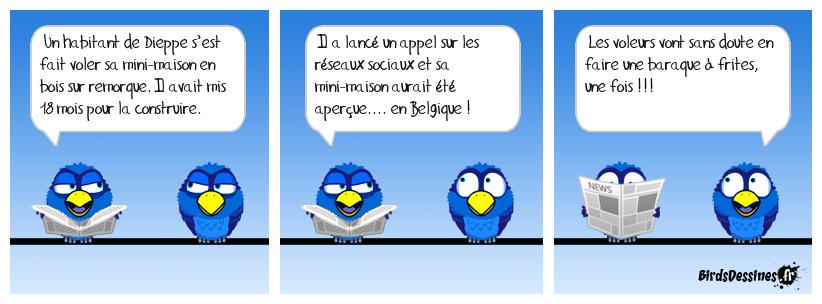 Ça pourrait être une histoire belge !
