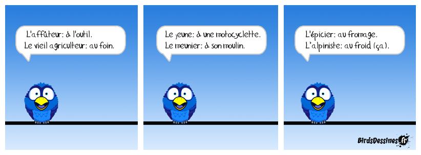 De la difficulté du français ...  Meule: à quoi pensent-ils ?