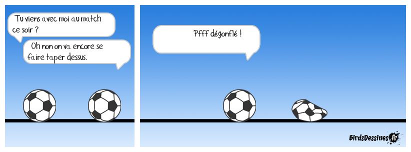 Une petite histoire de ballons.