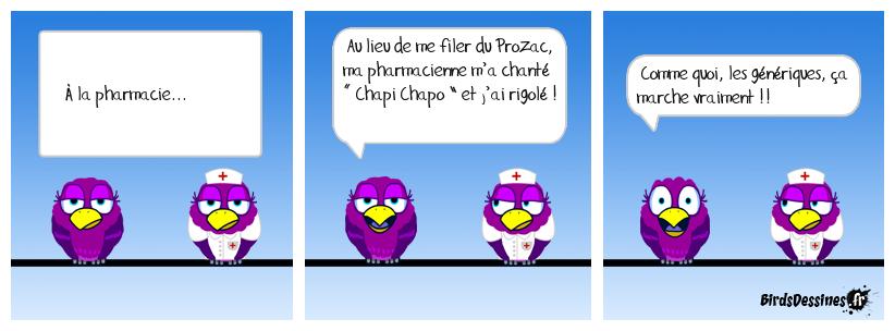 Ça va être animé dans les pharmacies...