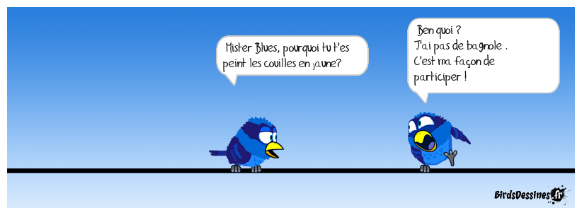 Le 17 novembre Mister Blues participera !