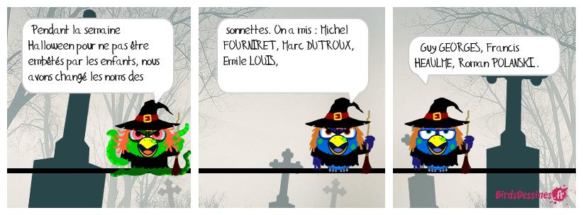 Halloween, fallait y penser !