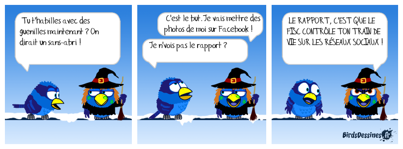 La parade sur les réseaux sociaux