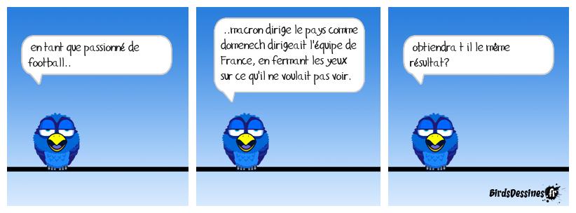 Macron VS Domenech.