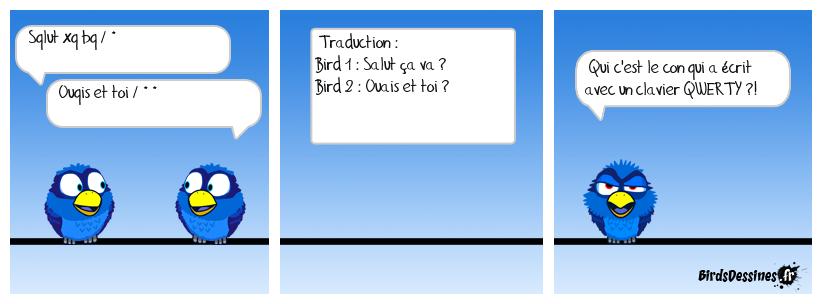 Problème de clavier