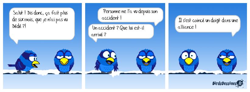 L'accident bête